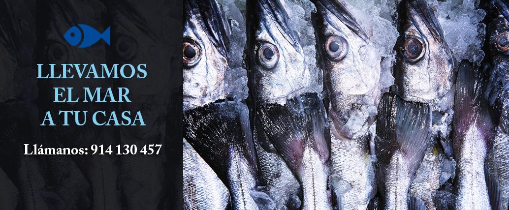 Comprar pescado on line en Madrid Zona Chamartin