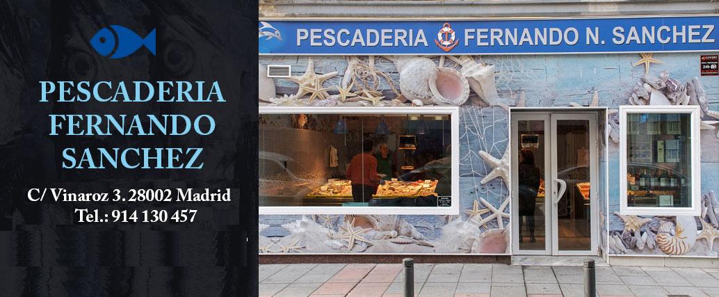 Pescado a domicilio Madrid Tienda